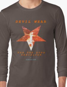 Devil Wear (version 1 collectors) Long Sleeve T-Shirt