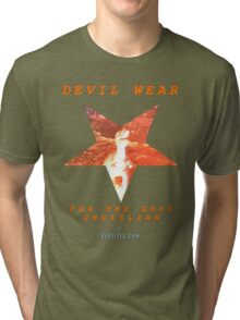 Devil Wear (version 1 collectors) Tri-blend T-Shirt