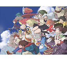 Miyazaki Hayao - Studio Ghibli Photographic Print