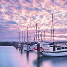 Another Evans Bay Marina Sunrise by SeeOneSoul