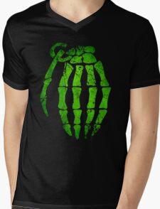 Grenade Mens V-Neck T-Shirt
