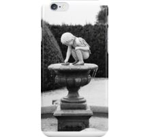 Little Boy Angel iPhone Case/Skin