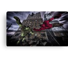 Classic Superheroes   Canvas Print