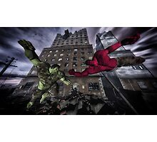 Classic Superheroes   Photographic Print