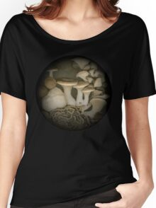 Pine Lake Mushrooms  Women's Relaxed Fit T-Shirt
