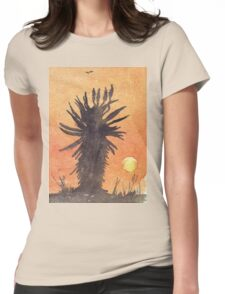Aloe sunset Womens Fitted T-Shirt
