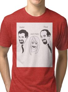 Peter Paul and Mary Tri-blend T-Shirt
