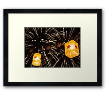 Warm and Real and Bright Framed Print
