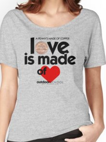 Love is Made of Heart Women's Relaxed Fit T-Shirt