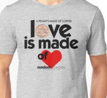 Love is Made of Heart Unisex T-Shirt