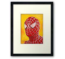 The Amazing Spiderman! Framed Print