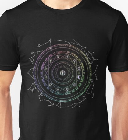 Astrological Magic Circle Unisex T-Shirt