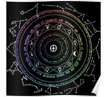 Astrological Magic Circle Poster