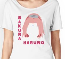 Sakura Haruno Women's Relaxed Fit T-Shirt