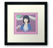 Jungkook [Haku] Framed Print