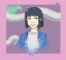 Jungkook [Haku] Photographic Print