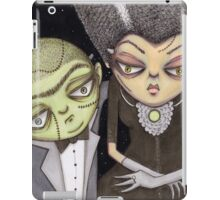 Frank and his Bride iPad Case/Skin