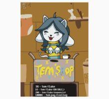 Temmie's Tem Shop!!! Kids Tee