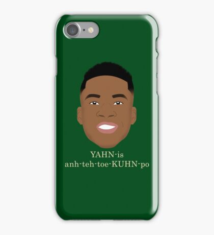 Giannis Pronunciation iPhone Case/Skin