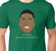 Giannis Pronunciation Unisex T-Shirt
