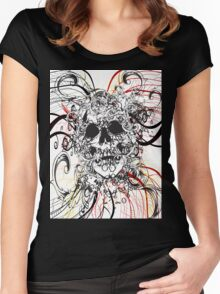 Skull Rush Women's Fitted Scoop T-Shirt
