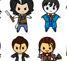 The Johnny Depp Collection Sticker