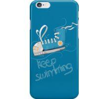 Keep Swimming iPhone Case/Skin