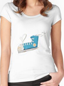 Keep Swimming Women's Fitted Scoop T-Shirt