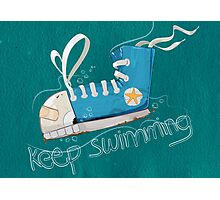 Keep Swimming Photographic Print