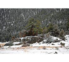 RMNP Winter Study 5  Photographic Print