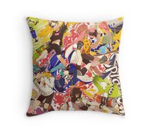 Splatoon - Time for Fun Throw Pillow