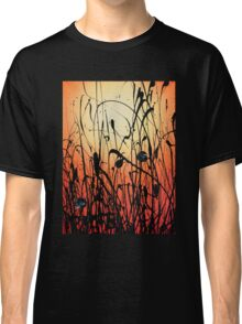 Two Orbs Meet in a Field at Sunset Classic T-Shirt