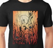 Two Orbs Meet in a Field at Sunset Unisex T-Shirt