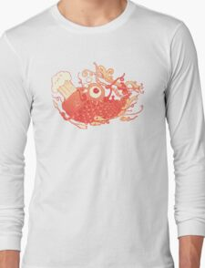 Japanese Red Carp Long Sleeve T-Shirt