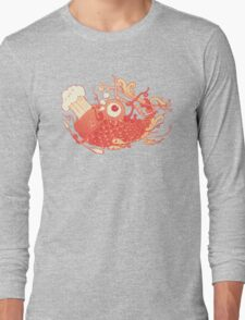 Japanese Red Carp Long Sleeve T-Shirt