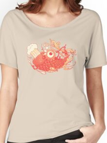 Japanese Red Carp Women's Relaxed Fit T-Shirt