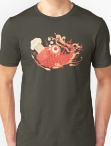 Japanese Red Carp Unisex T-Shirt
