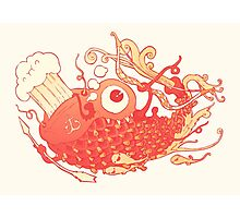 Japanese Red Carp Photographic Print