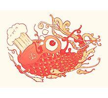 Japanese Red Carp Photographic Print