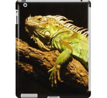 Green Iguana iPad Case/Skin
