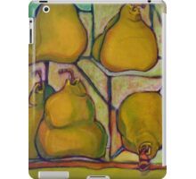 Pears in Squares iPad Case/Skin
