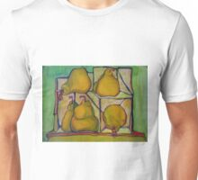 Pears in Squares Unisex T-Shirt