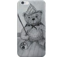 Teddy bear ready for the Parade iPhone Case/Skin