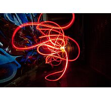 Light Swarm Photographic Print