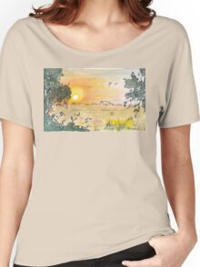 Sunrise over No. 84 Women's Relaxed Fit T-Shirt