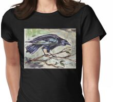 Corvus capensis Womens Fitted T-Shirt