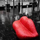 Red Chair by Andrew Wilson