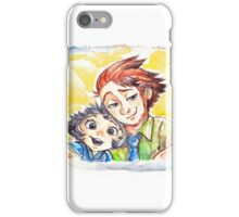 cute Ginger Couple iPhone Case/Skin