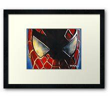 Spiderman no.4! Framed Print