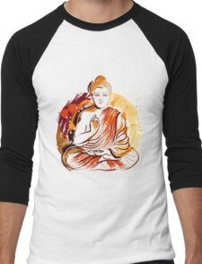 Buddha Men's Baseball ¾ T-Shirt